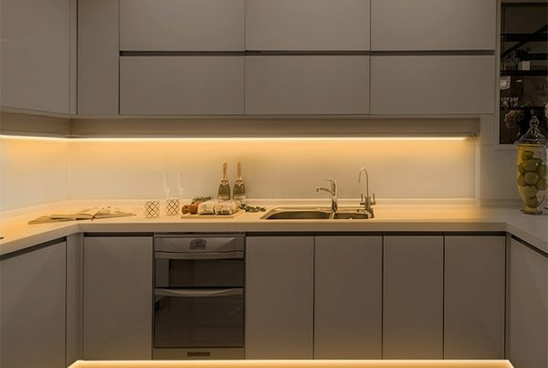 Kitchen Cabinet Strip Lighting